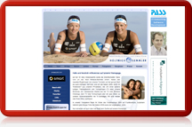 Beachvolleyball-Nationalteam Holtwick/Semmler