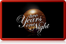 Logo two Years one Night - Die Silvesterparty in Kreuzau